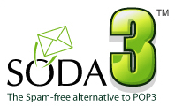 SODA3™ - The spam free alternative to POP3